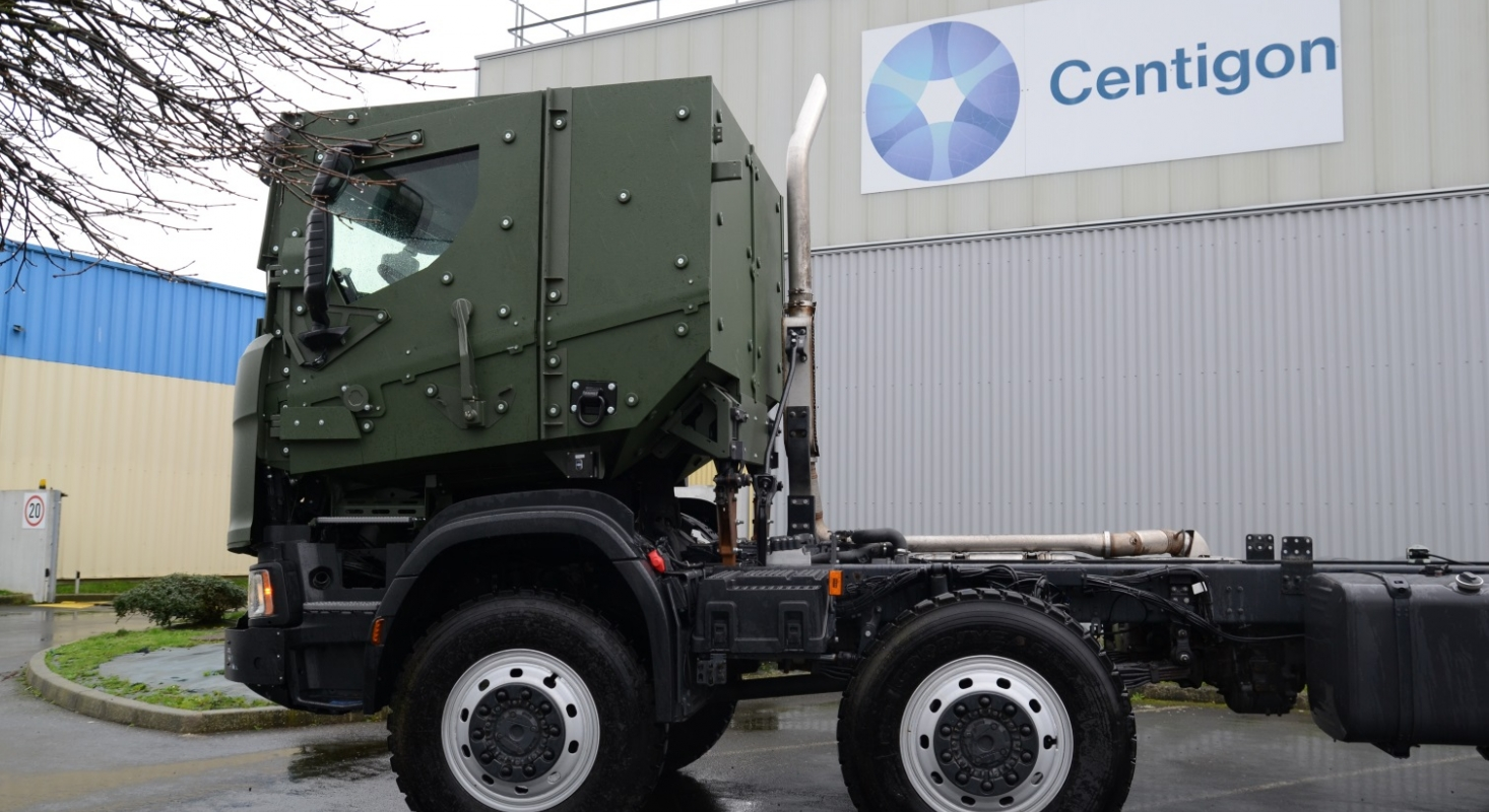 Centigon Security Group Vehicle Scania Exchangeable